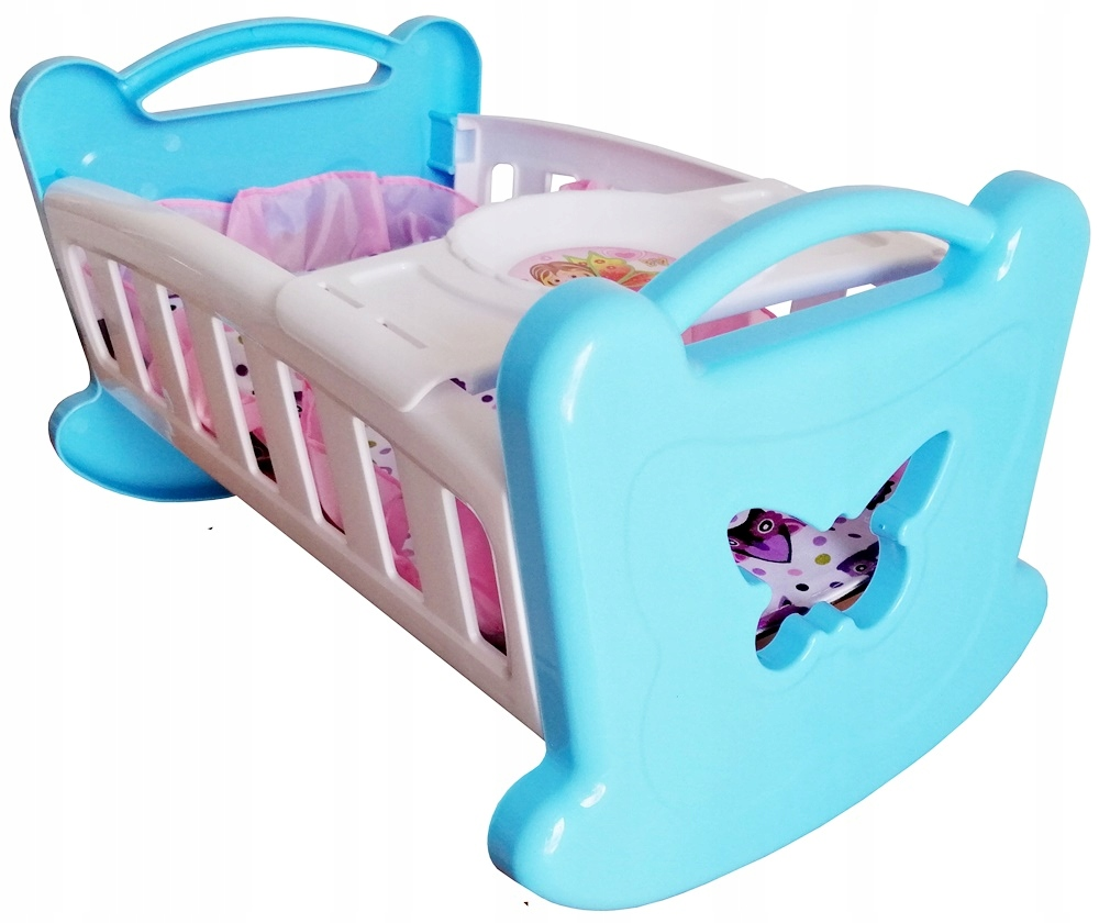 Hojdacie motýle pre bábiky bábiky + zásobník + posteľná bielizeň
