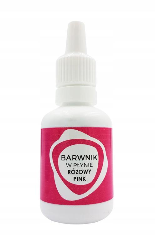 Пищевой краситель жидкий розовый 25мл ТортДекор