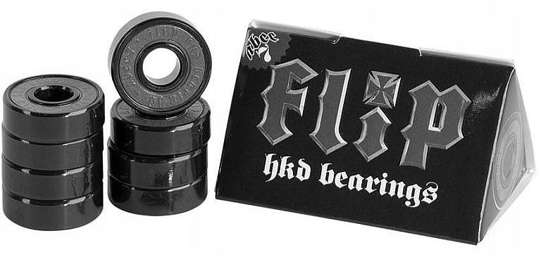 Ložiská Flip HKD Abec 7 - čierne
