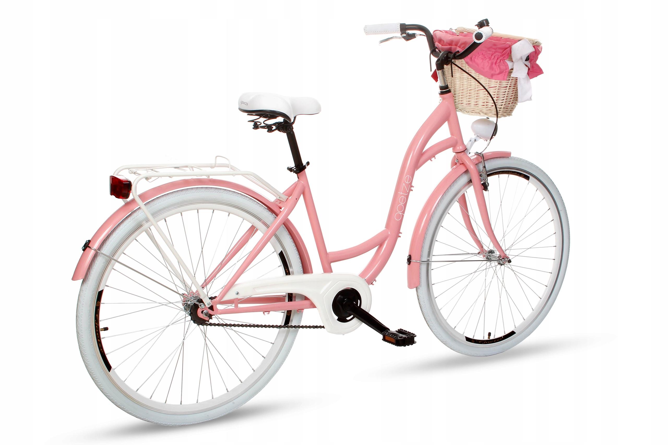 Dámsky mestský bicykel Goetze Style 28 košík !!!  # 4 Počet prevodových stupňov 1
