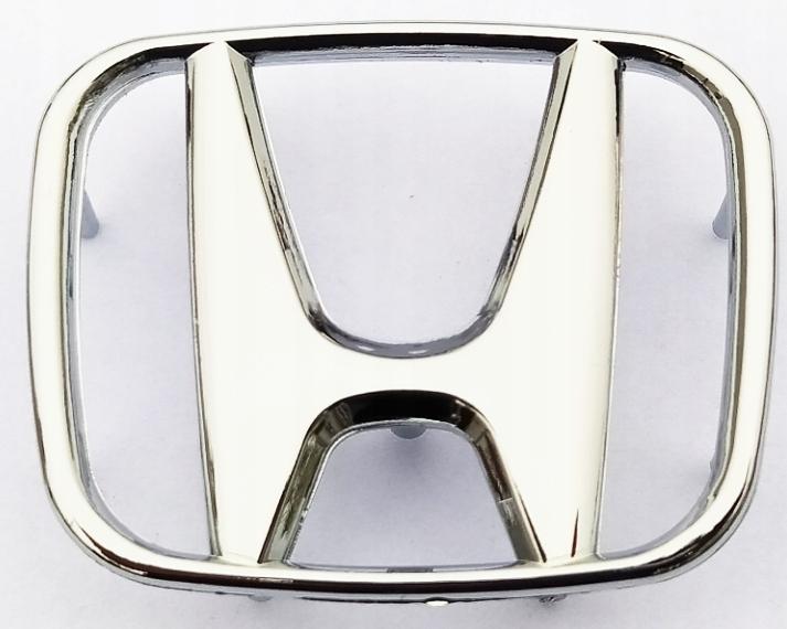 honda эмблема марку логотип хром серебро 49x40