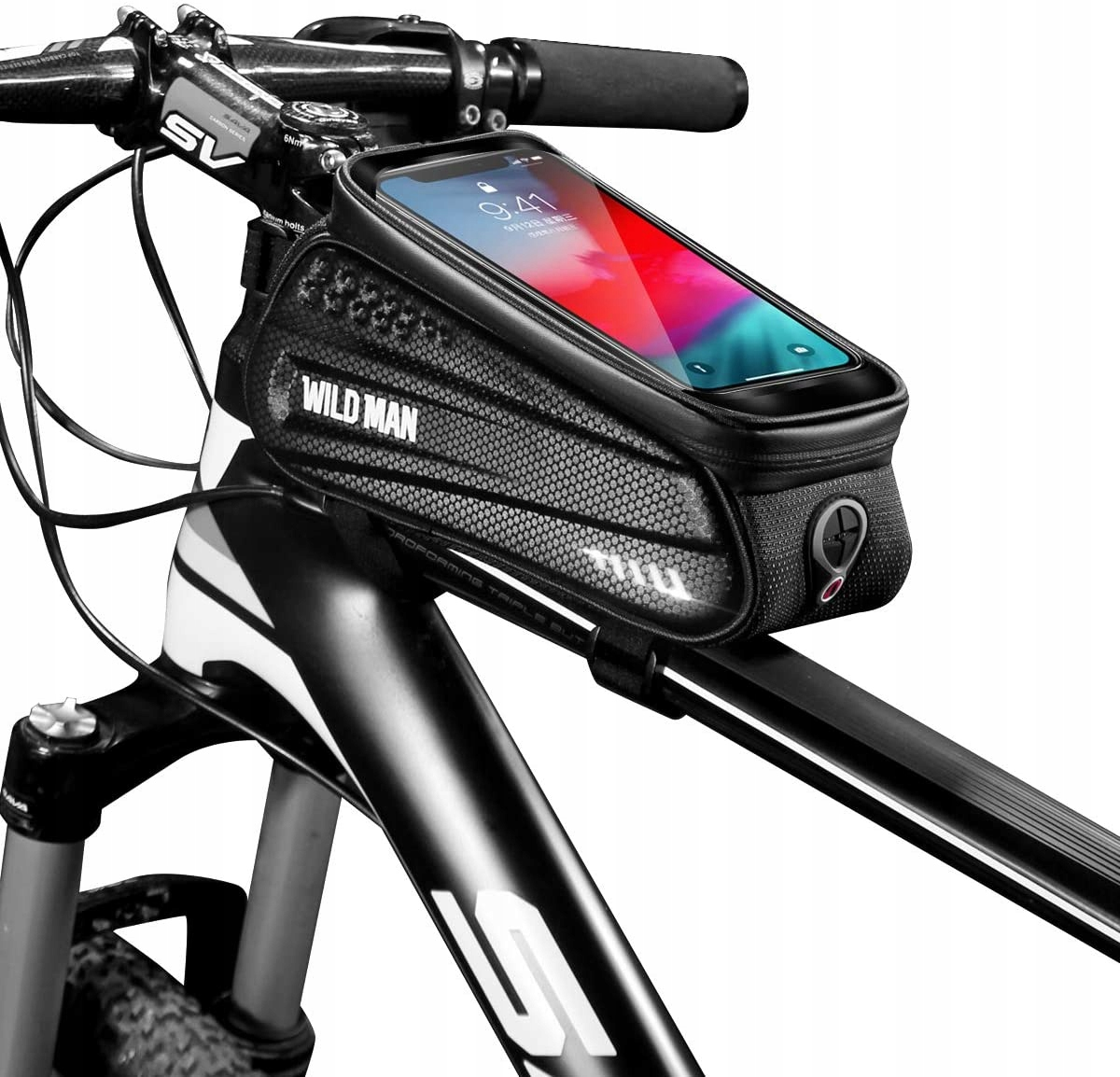 Водонепроницаемый велосипед Sakowe рамка телефон дикий человек