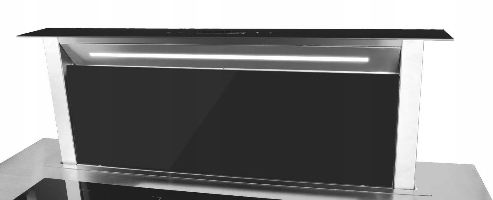 Витяжка для кухні, висувна стільниця 90 SCHILD Домінуючий колір - чорний