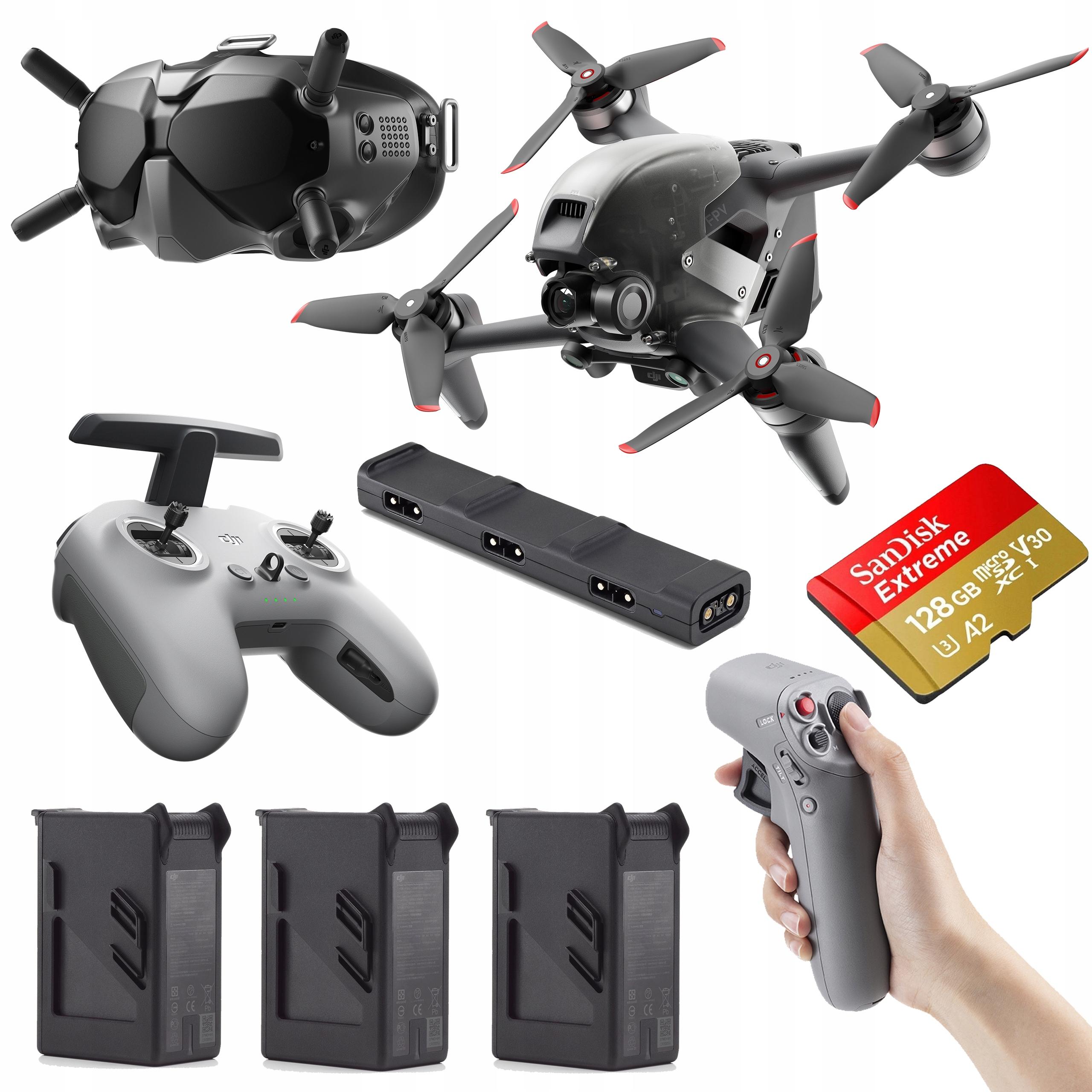 Dron DJI FPV Combo + Fly More Kit + DJI Motion
