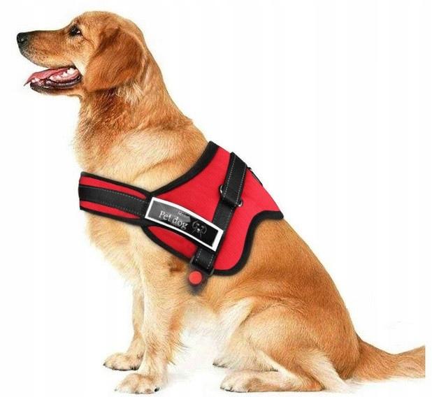 Шлейка для собаки Лабрадорская овчарка размер XL