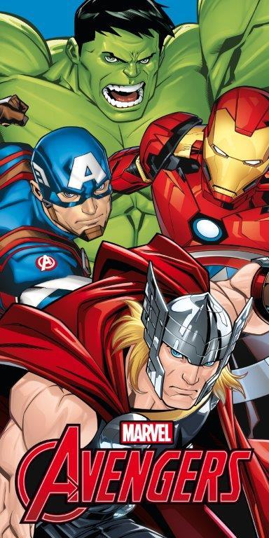 Avengers Hulk Iron Man Thor 70x140 Uterák