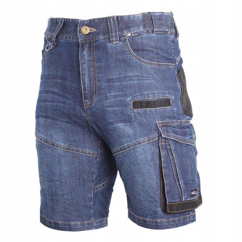 LAHTI PRO Spodenki robocze krótkie jeansowe roz XL