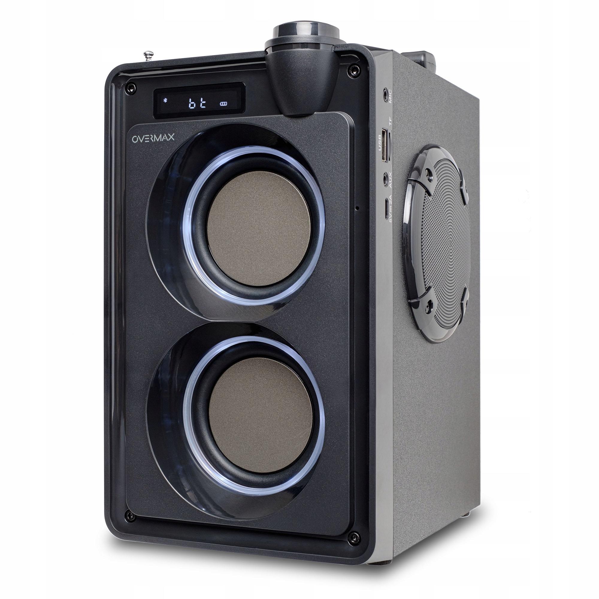 Item Głośnik Bluetooth Soundbeat 5.0 USB SD AUX RADIO