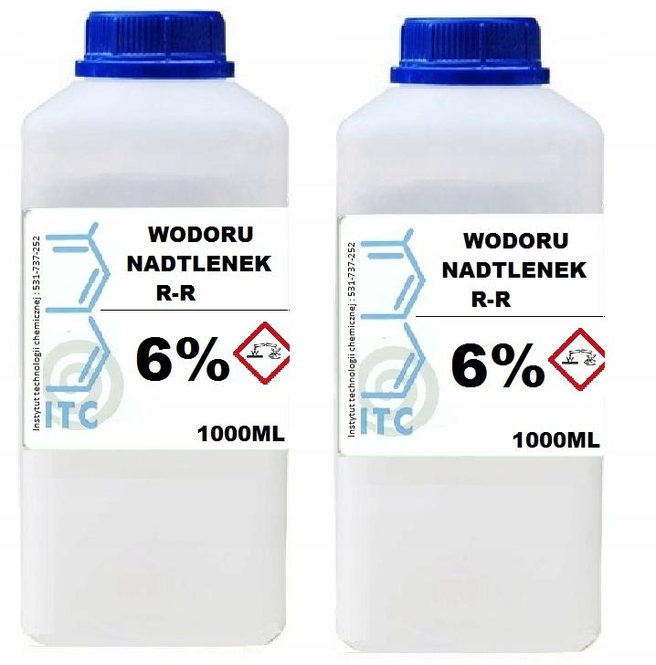 перекись водорода 6 2 x 1000 мл ITC SMART