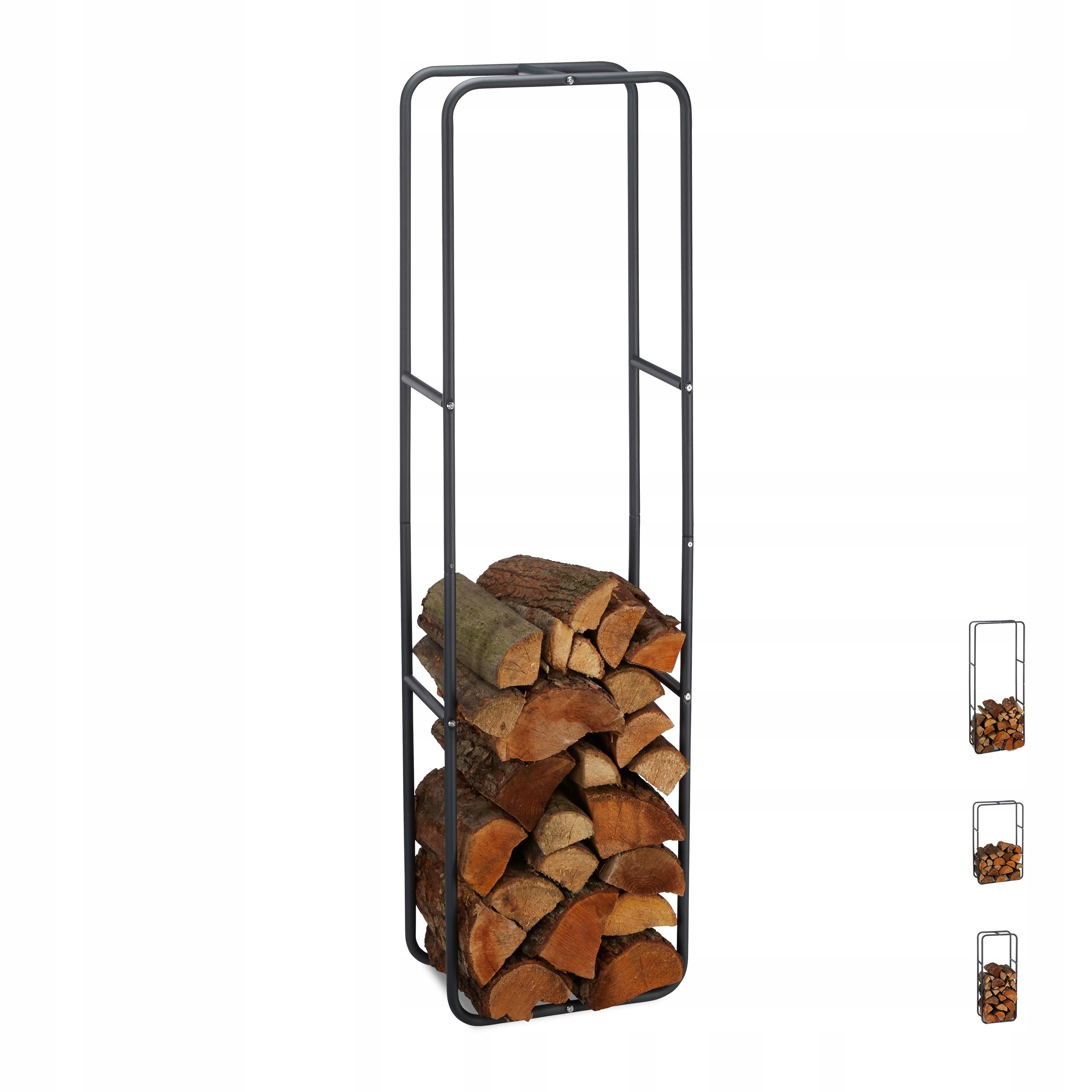 Стальная подставка, стеллаж для камина на дровах