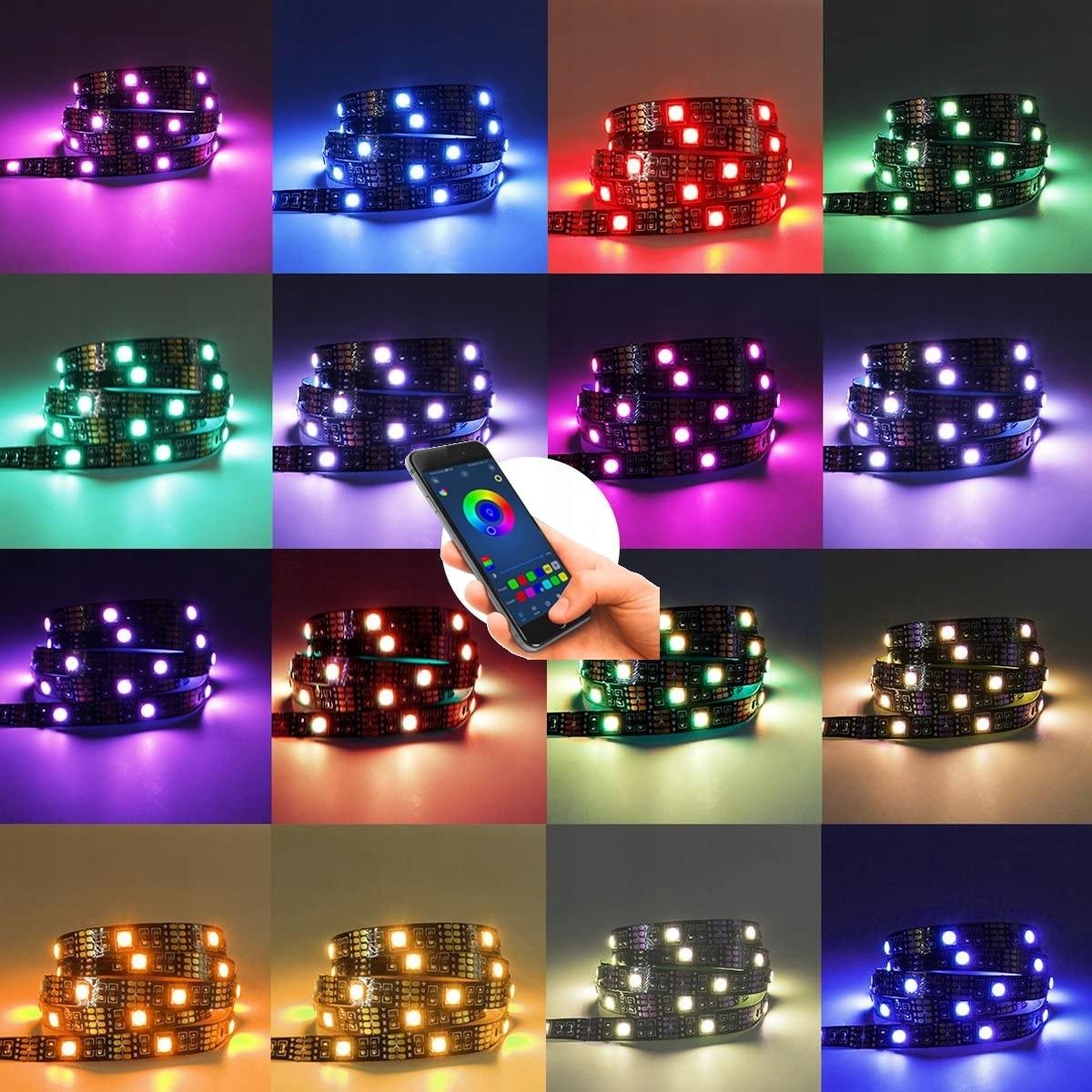 LED STRIP 5050 RGB TV USB BLUETOOTH APP Type LED-stripe