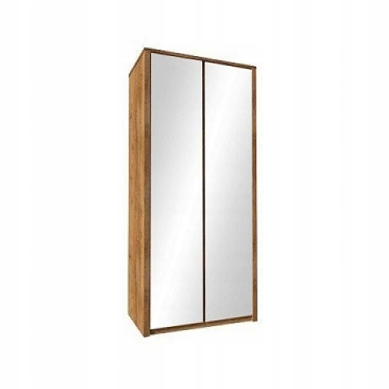 Шкаф двухдверный с зеркалом, 113 см MAXIM Gała