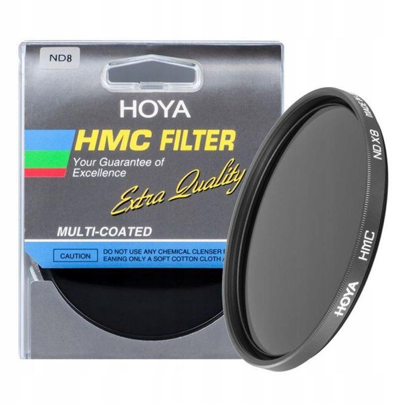 Šedá Hoya ND8 HMC 37mm Filter