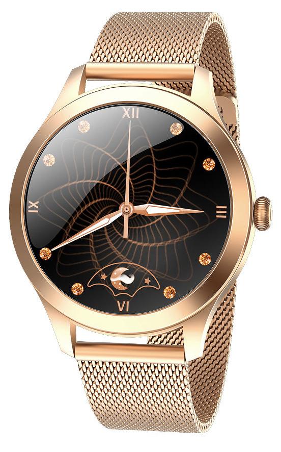 SMARTWATCH KW10 PRO ZŁOTY | PULSOKSYMETR | GRATISY Rodzaj smartwatch