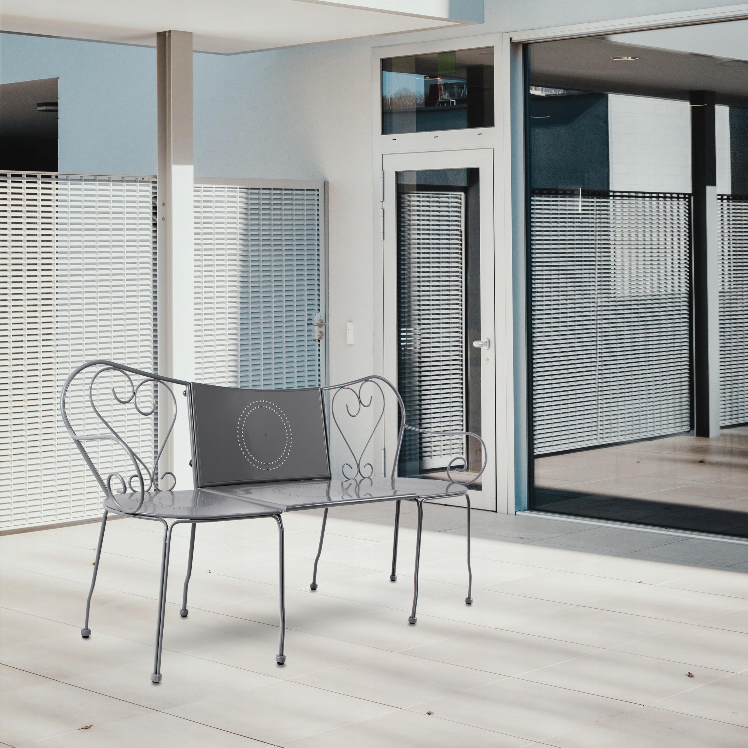 Záhradný nábytok Sada stoličkových stoličiek 3v1 Účelná kávová súprava