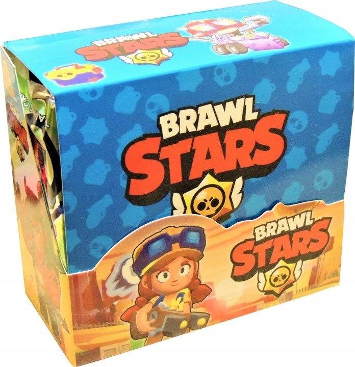Sada kariet hviezd Brawl Hracie karty BOX sáčok