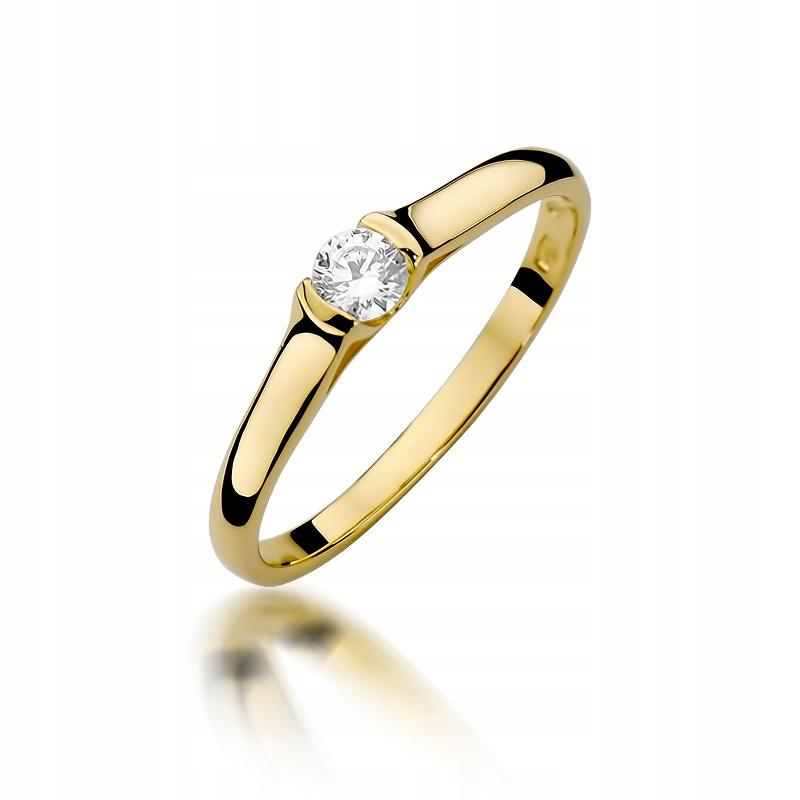 Zásnubný prsteň s diamantom 0,15 CT obchod