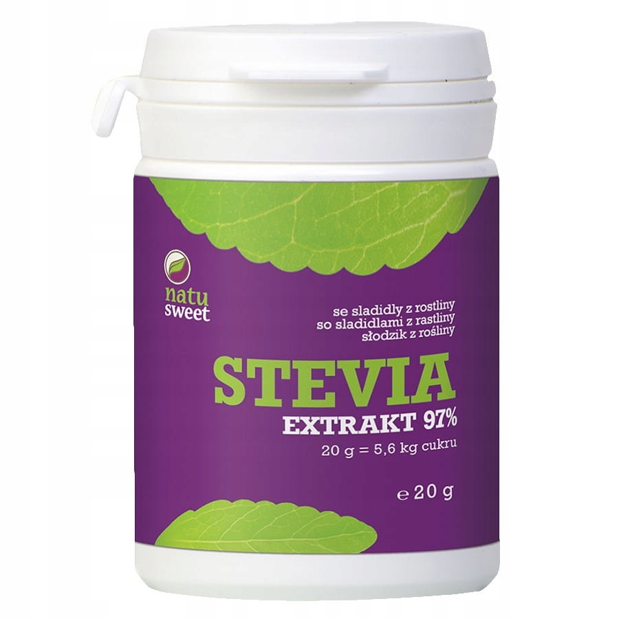 Чистый экстракт стевии 97% 20 г - Natusweet