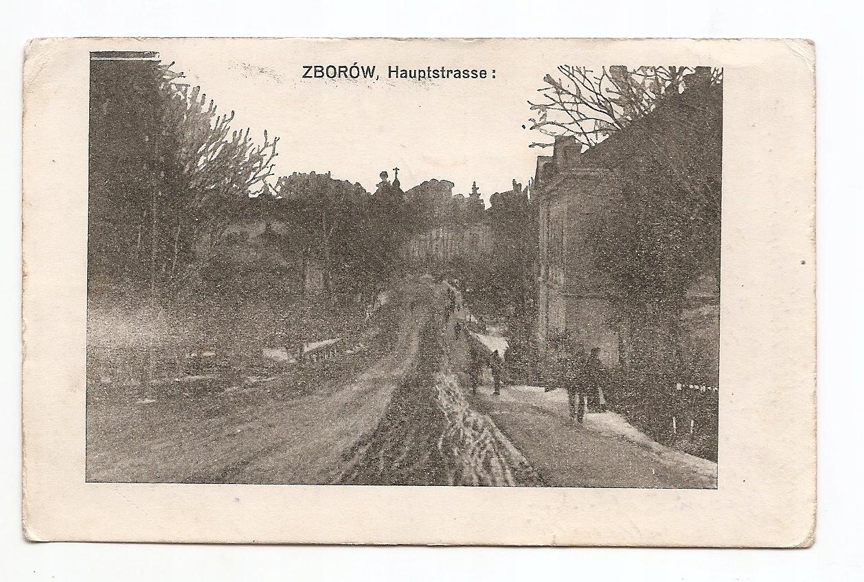 ZBORÓW -HAUPTSTRASSE -feldpost
