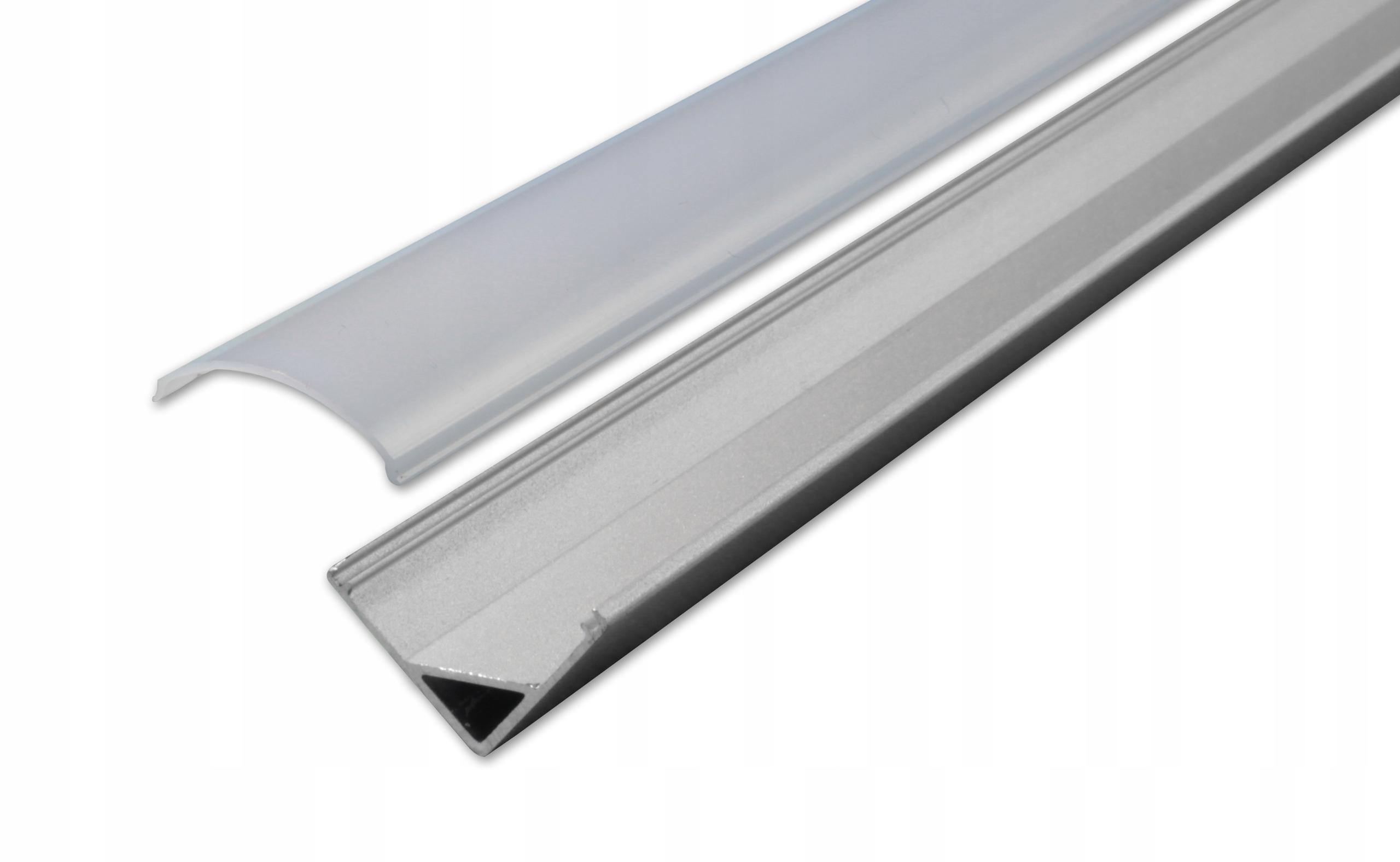 Угловой алюминиевый профиль 2м для СВЕТОДИОДНЫХ ЛЕНТОК