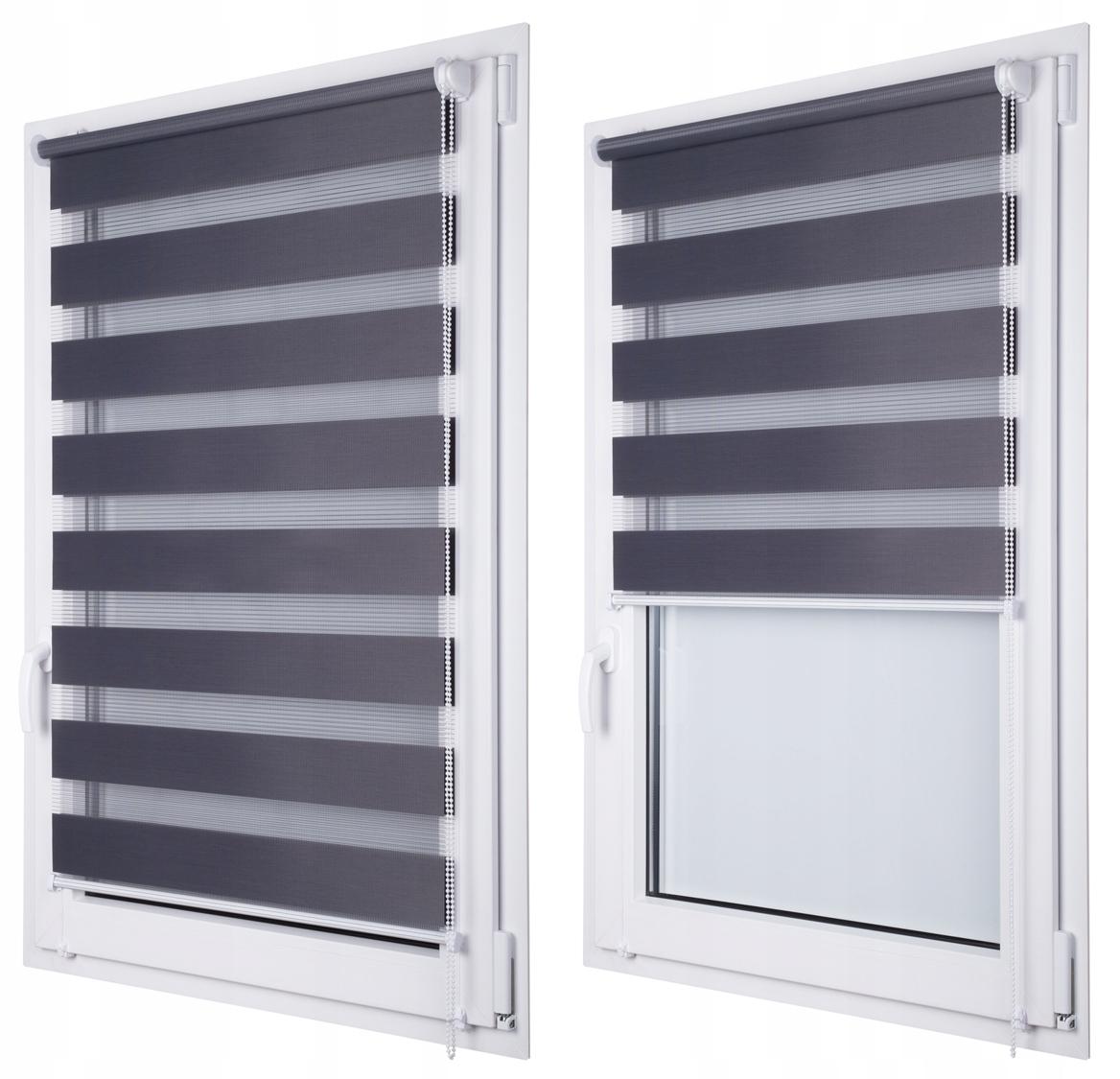 Индивидуальные дневные и ночные шторы с подрамником 57x150 см