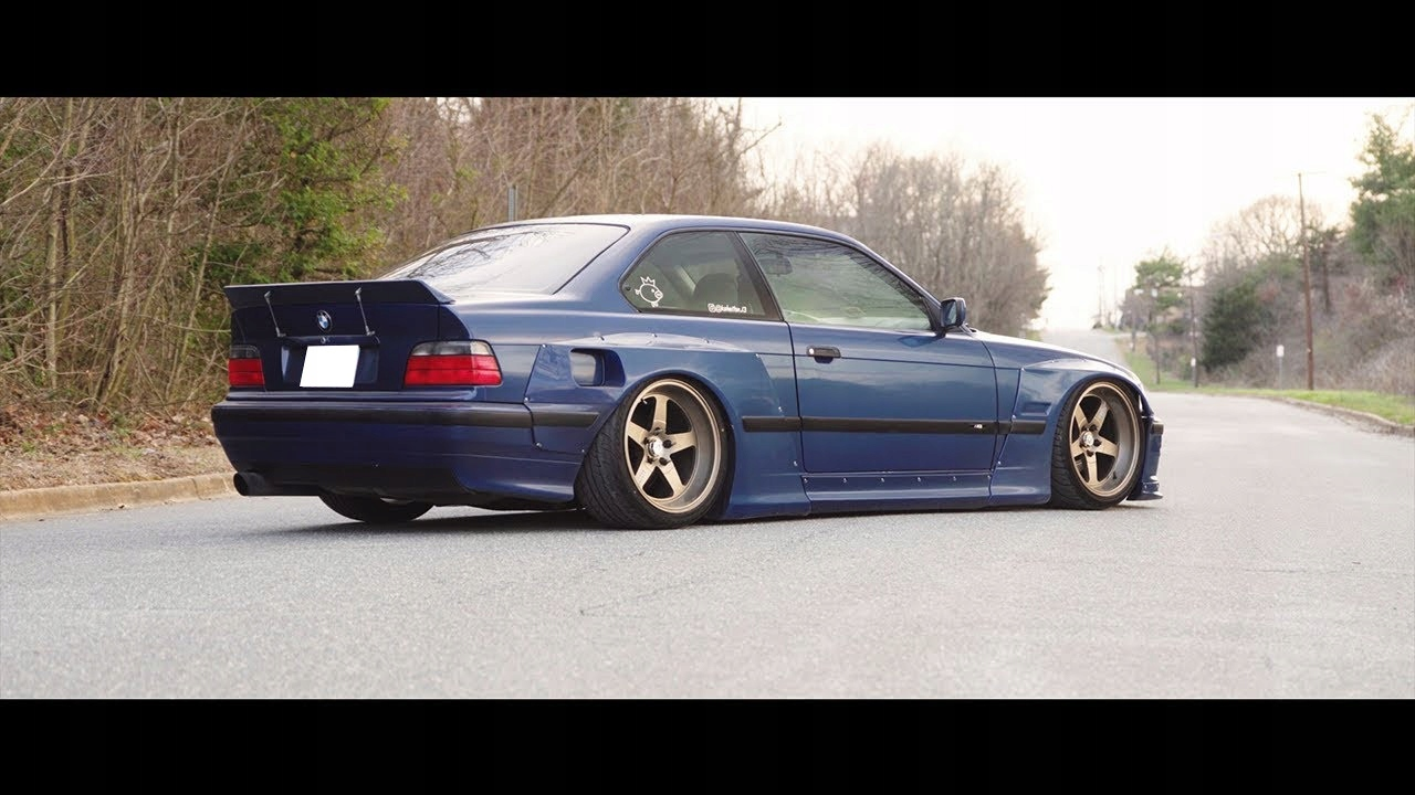 bmw 3 e36 pandem wide body body kit дрифт daily