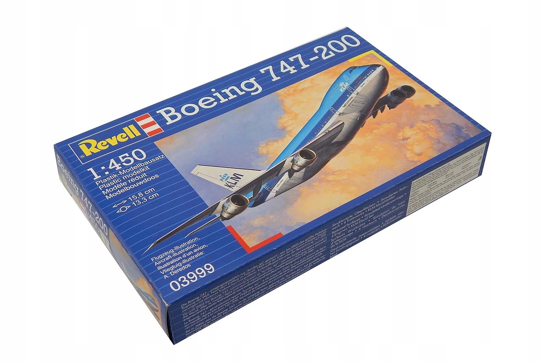 A7288 Model samolotu do sklejania Boeing 747-200