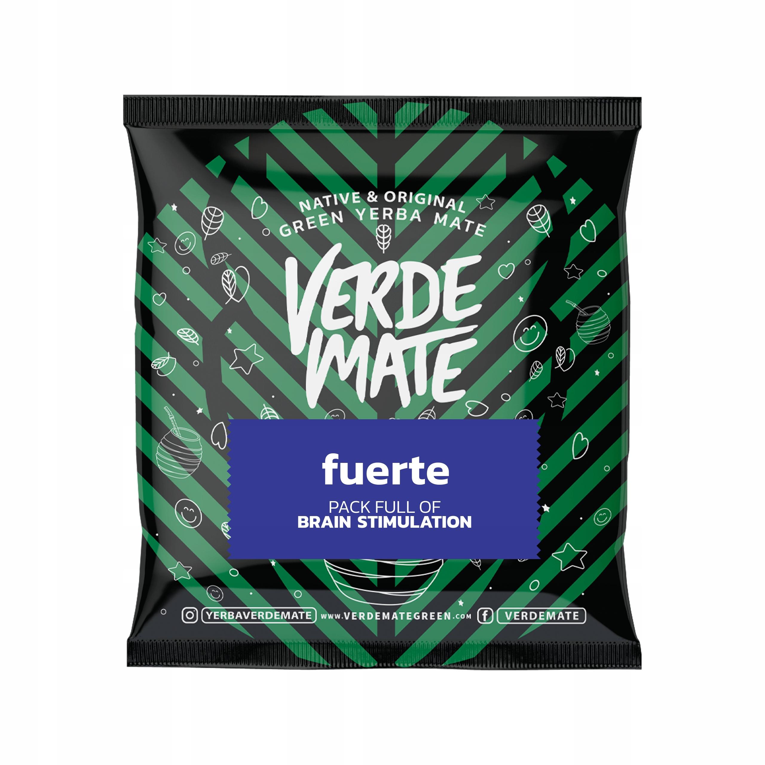 Yerba Mate Verde Mate Green Fuerte 50g