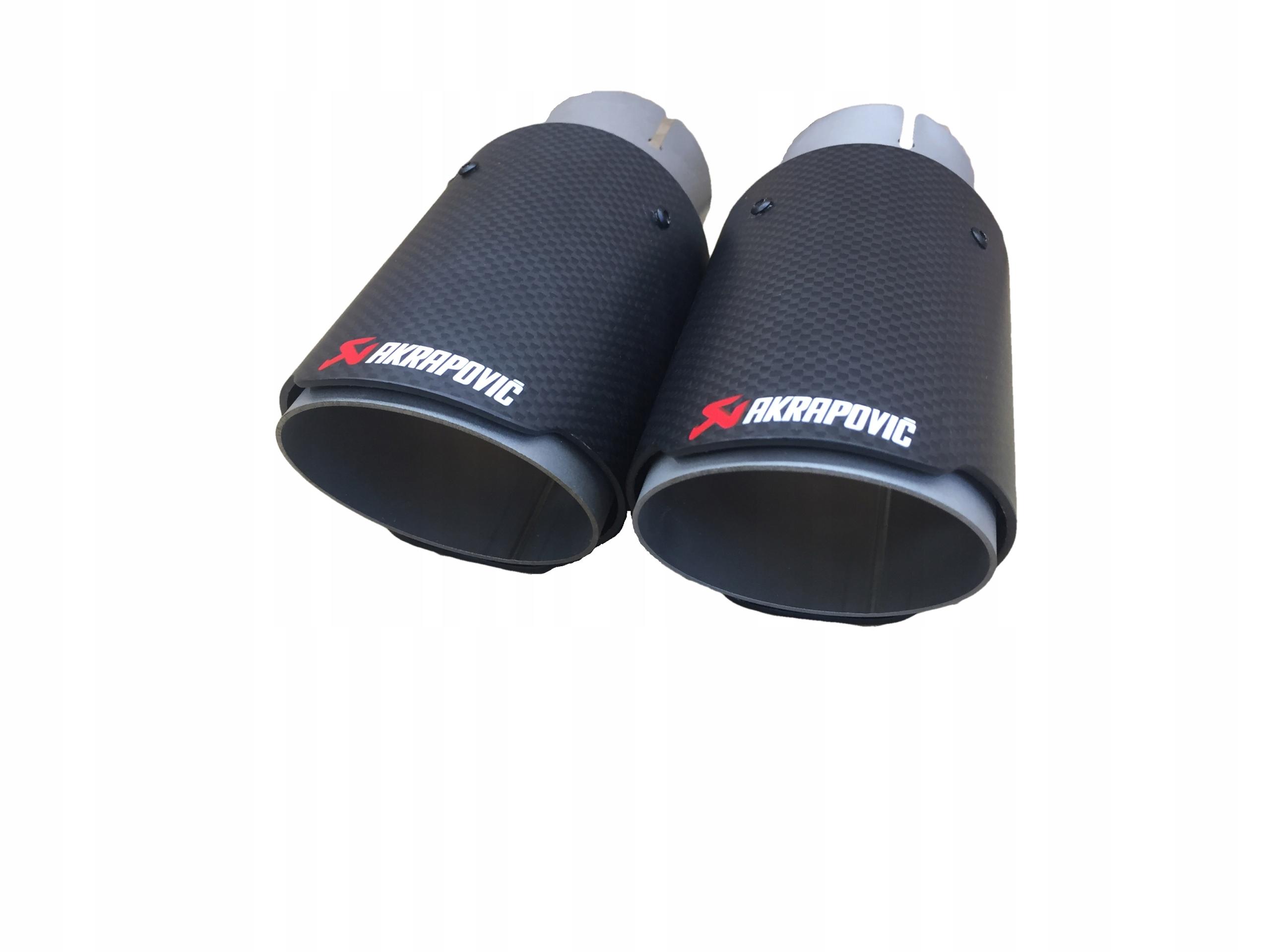 наконечники глушителя выдохе akrapovic 6078mm