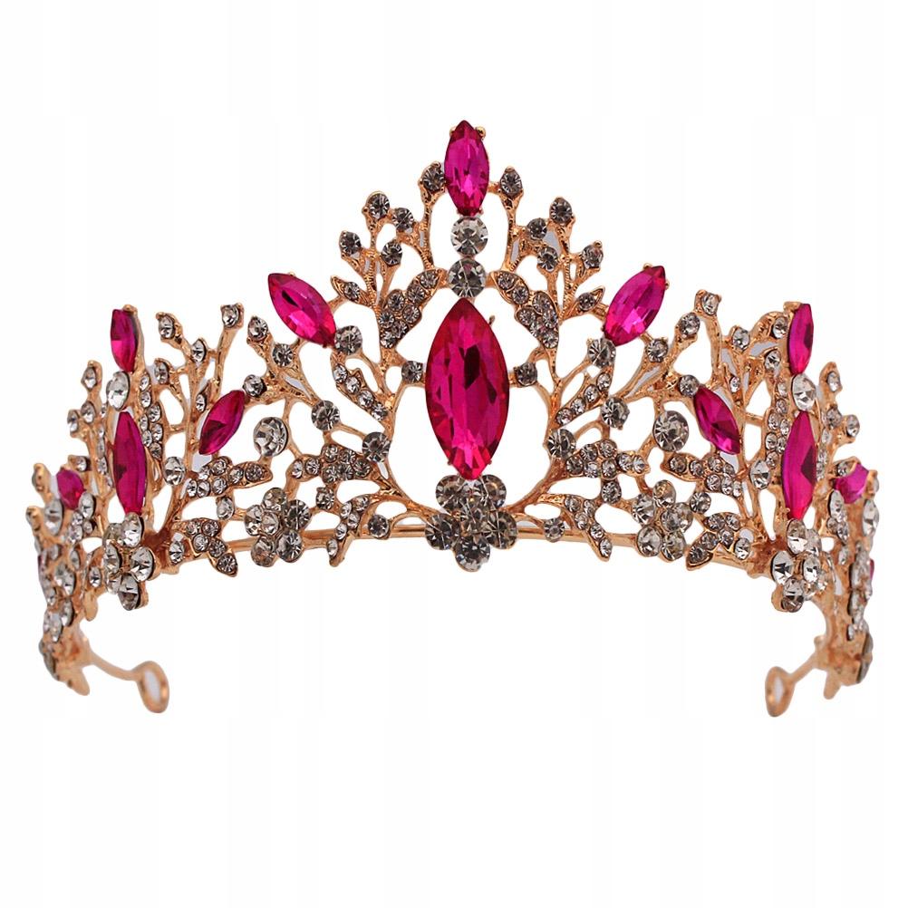 1ks Retro luxusný krúžok na plávajúce vlasy Crown