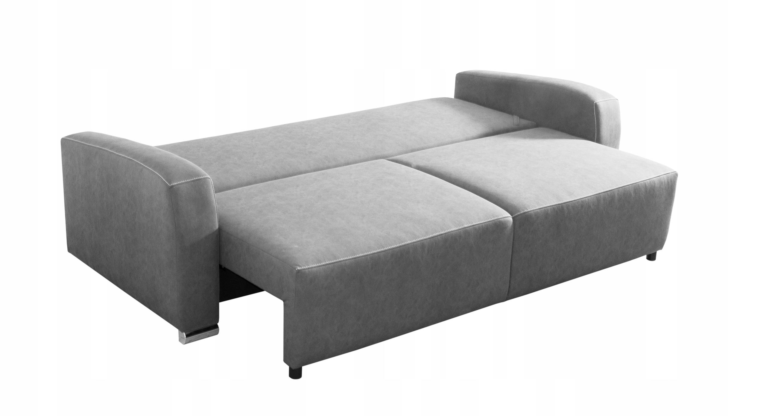 RENO LUX stilvolles Sofa für das Wohnzimmer / f. Schlaf / Farben Möbelhöhe 90 cm