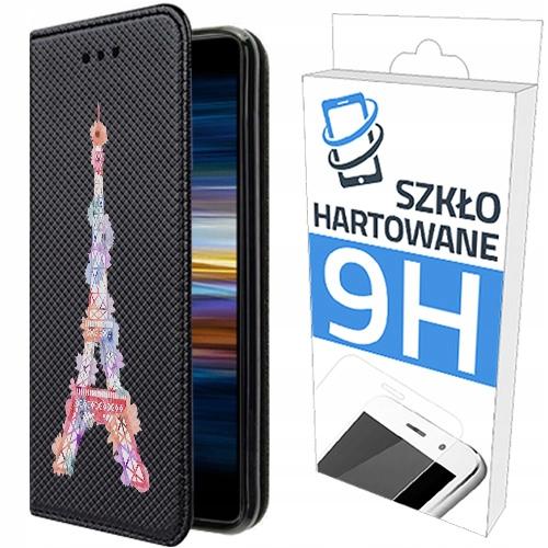 150wzorów Etui Z Klapką + Szkło Do Sony Xperia L3
