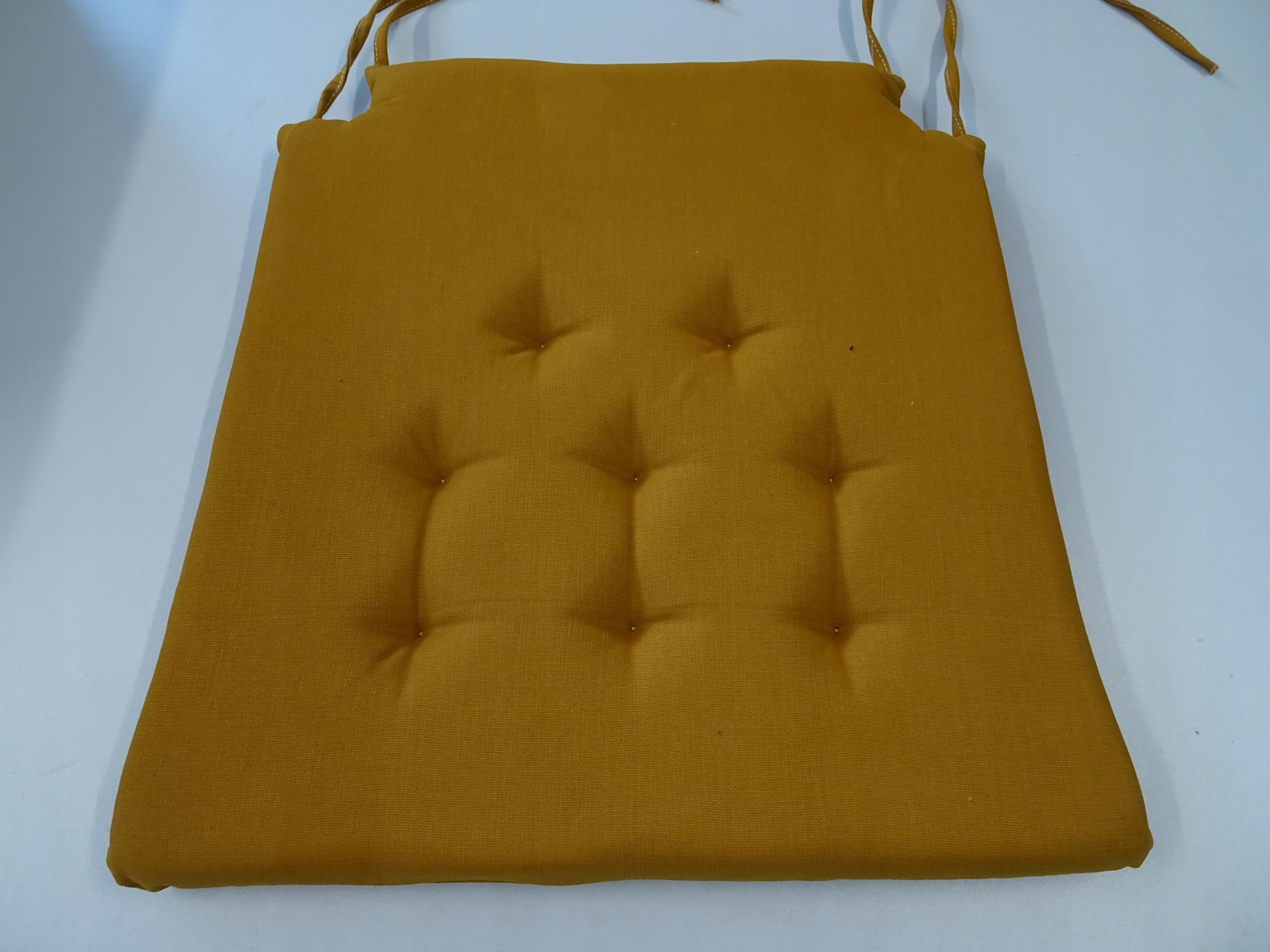 Подушка на стул, тип Стокгольм, цвет МЕД