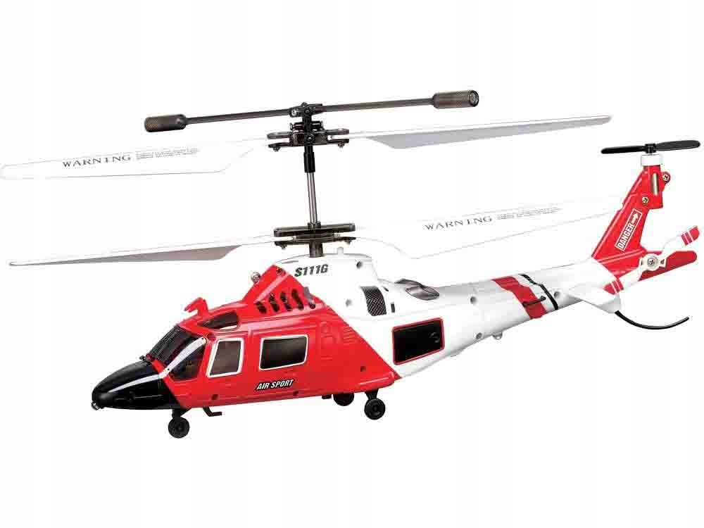 Helikopter Syma S111G sterowany na pilota RC0541 Wiek dziecka 14 lat +