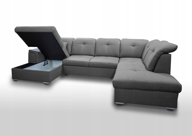 KOMFORTABLE ECKE BLANCO U - FARBEN Möbelhöhe 95 cm