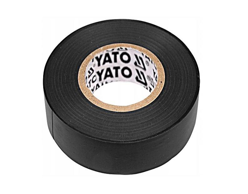 YATO YT-8159 ЛЕНТА ИЗОЛЯЦИОННАЯ ЧЕРНАЯ 15ММ Х 20М
