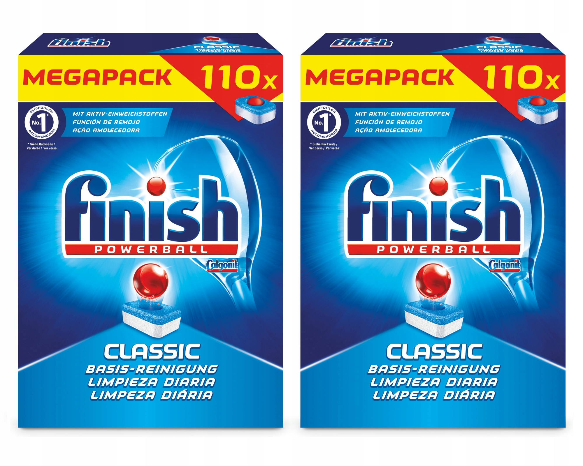 Finish Classic Таблетки для Посудомоечной машины 2x110= 220szt ДЕ