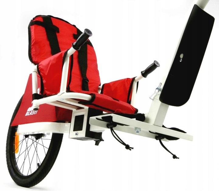 Przyczepka rowerowa dla 1 dziecka Weehoo iGo Blast Liczba miejsc 1