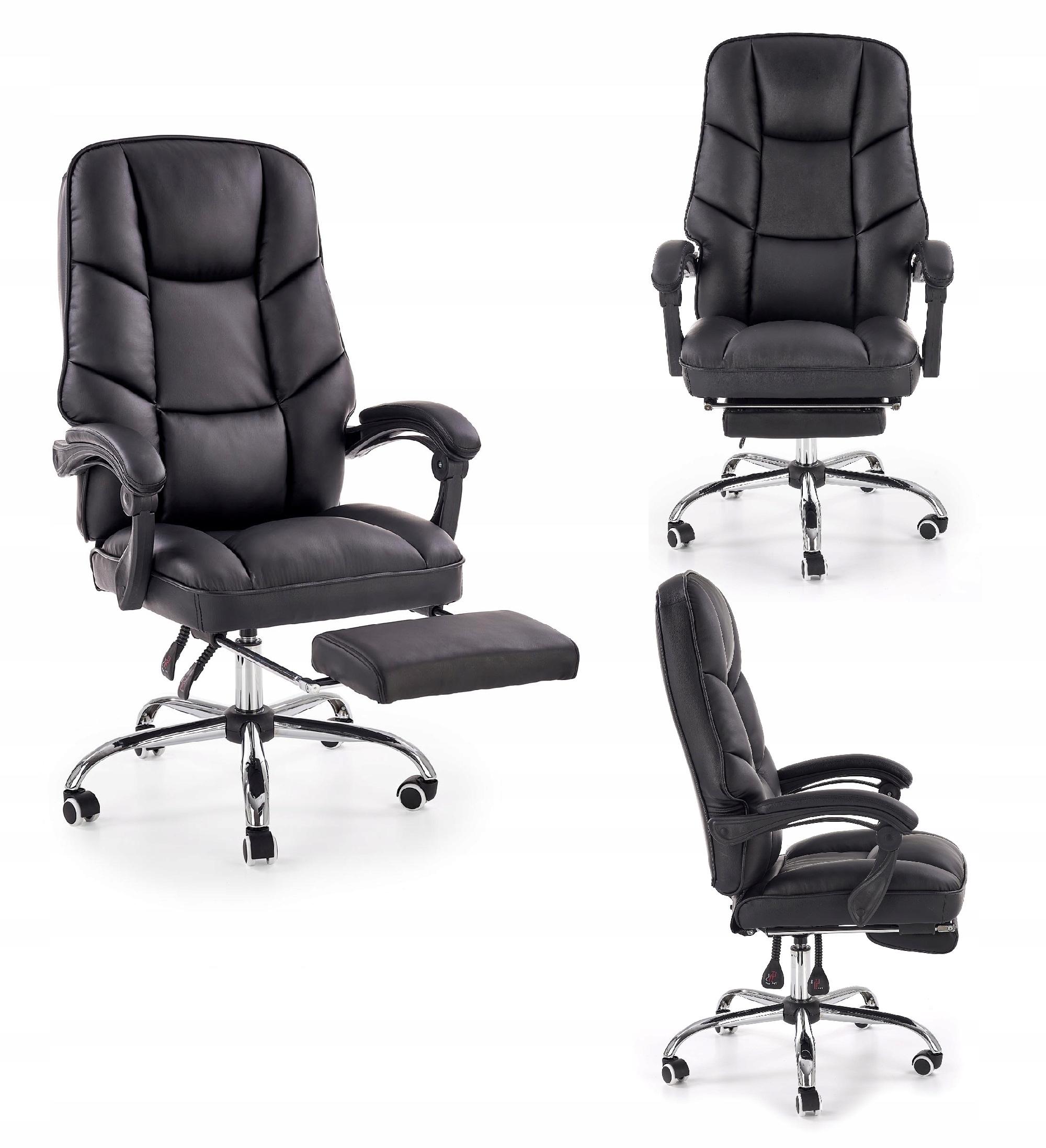 Директорское кресло ALVIN black Halmar