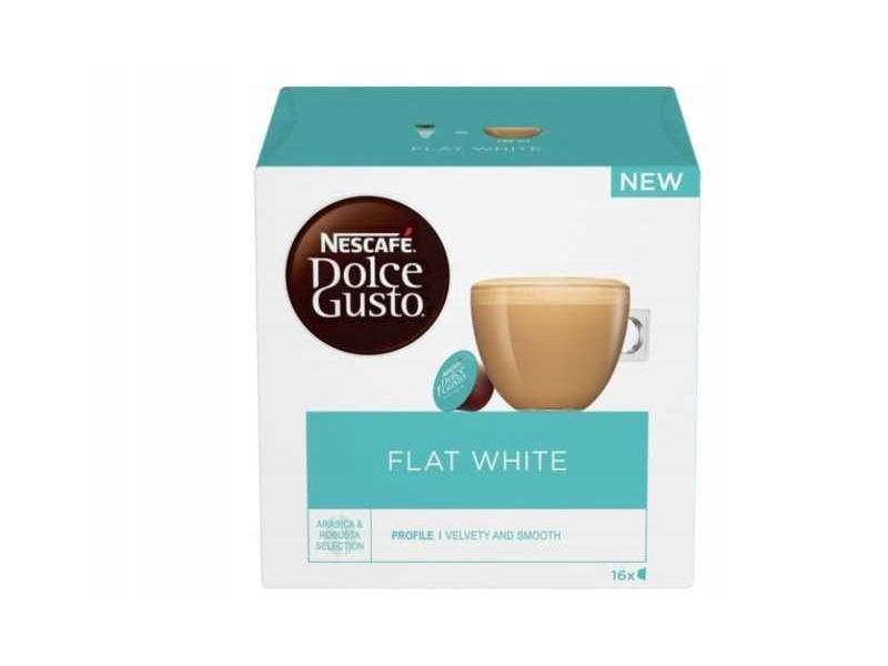 Kapsułki DOLCE GUSTO Nescafe Flat White (16sztuk)