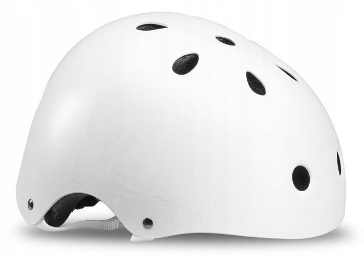 Prilba na kolieskových korčuliach Downtown Helmet Wht / Blk 48-54