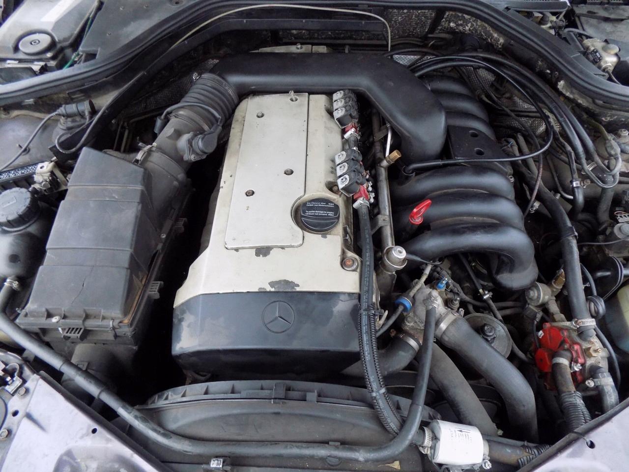 полный двигатель 32 170kw m104990 mercedes w140