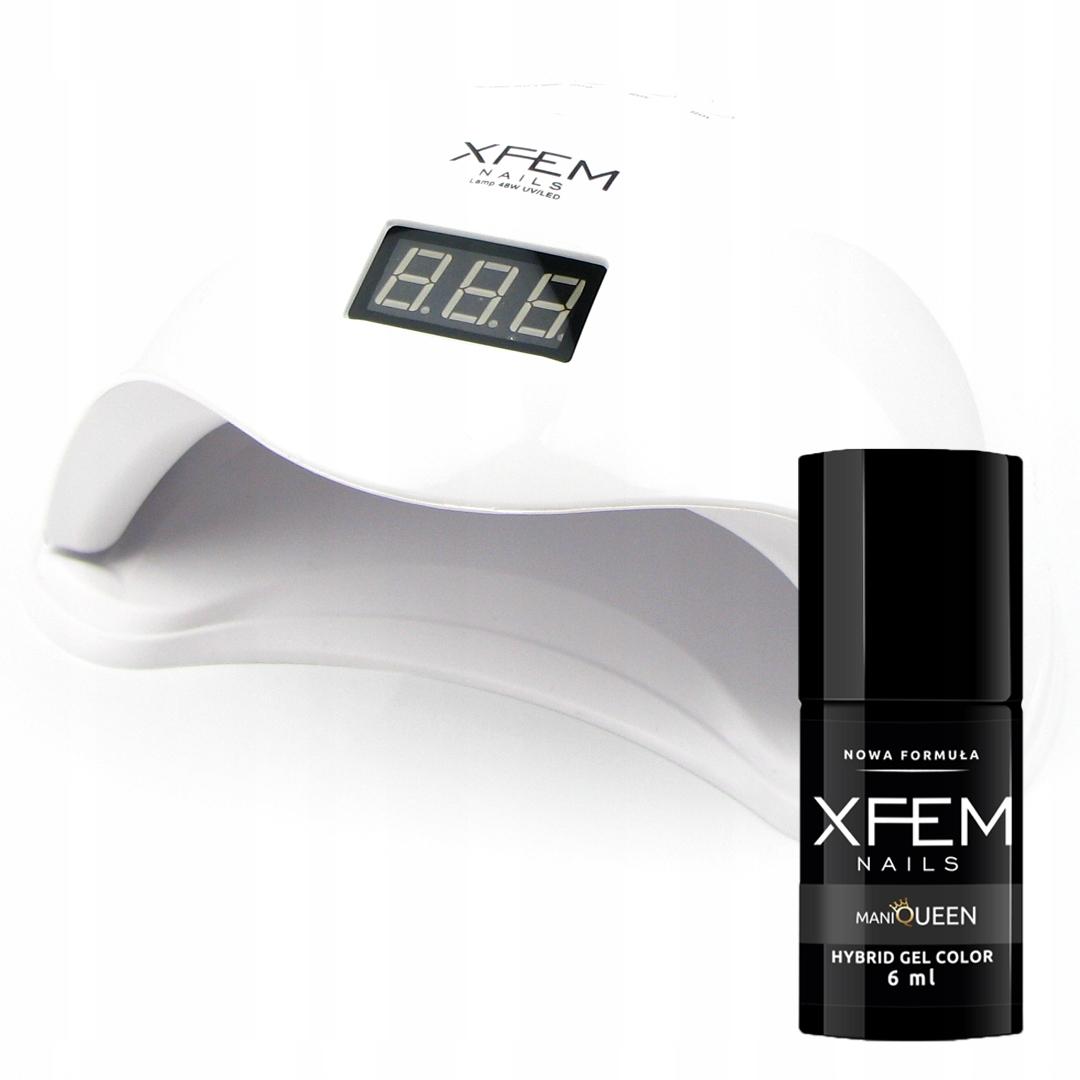 Купить УФ светодиодная лампа для ногтей-гибридов 48W XFEM + FREE на Otpravka - цены и фото - доставка из Польши и стран Европы в Украину.