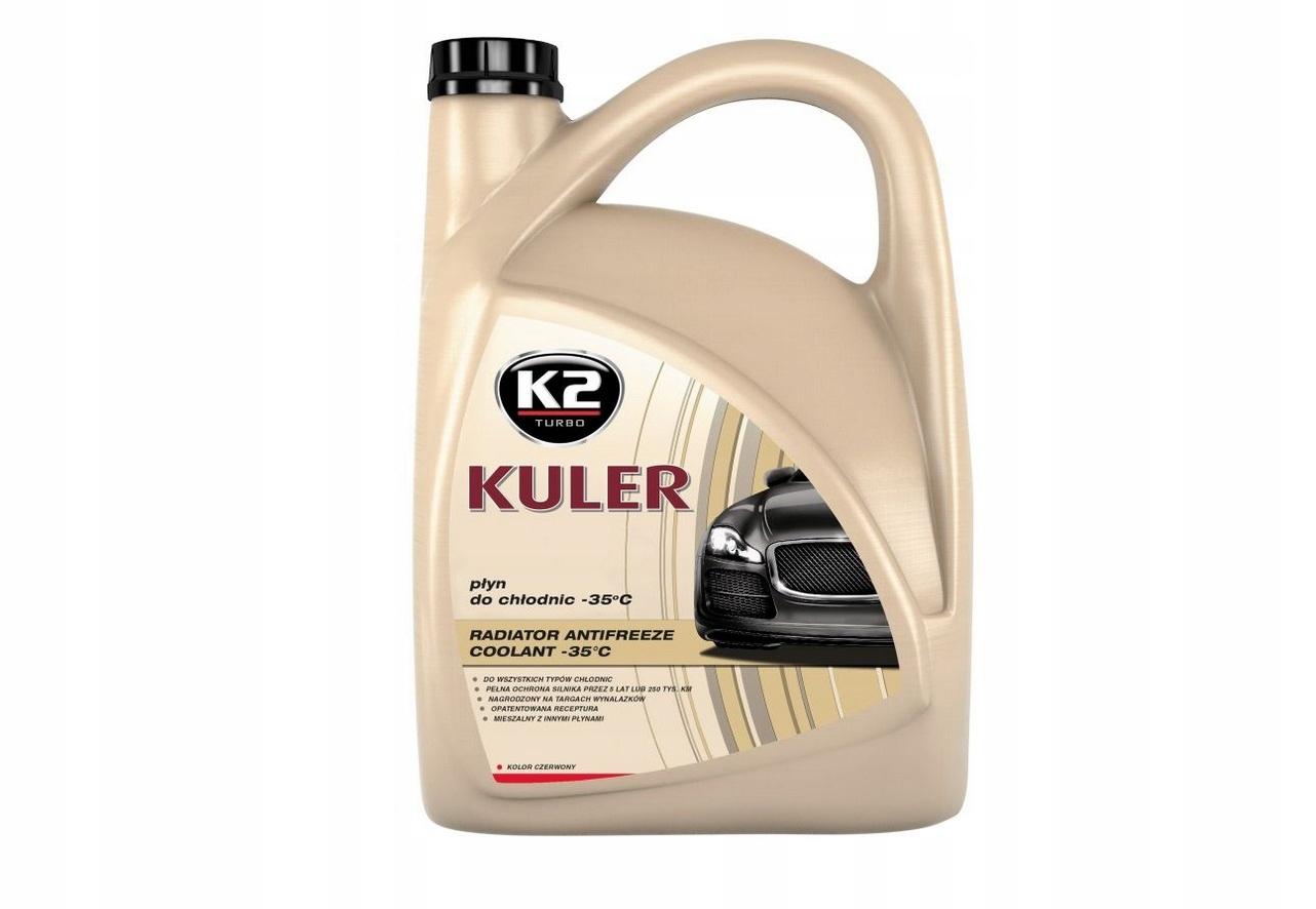 K2 KULER COOLER LIQUID PINK 5L G12 G12 35 ° C