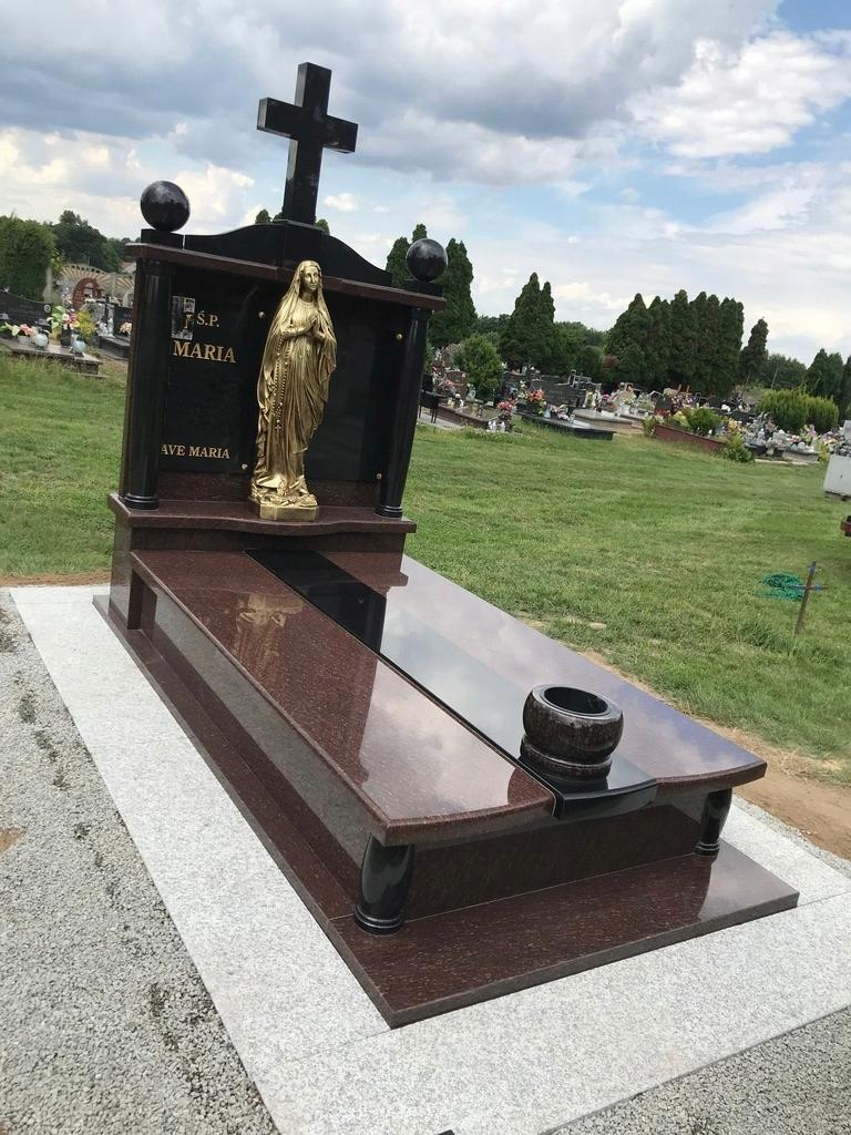 Memorial Tombstone Solid Mnoho farieb Veľký výber