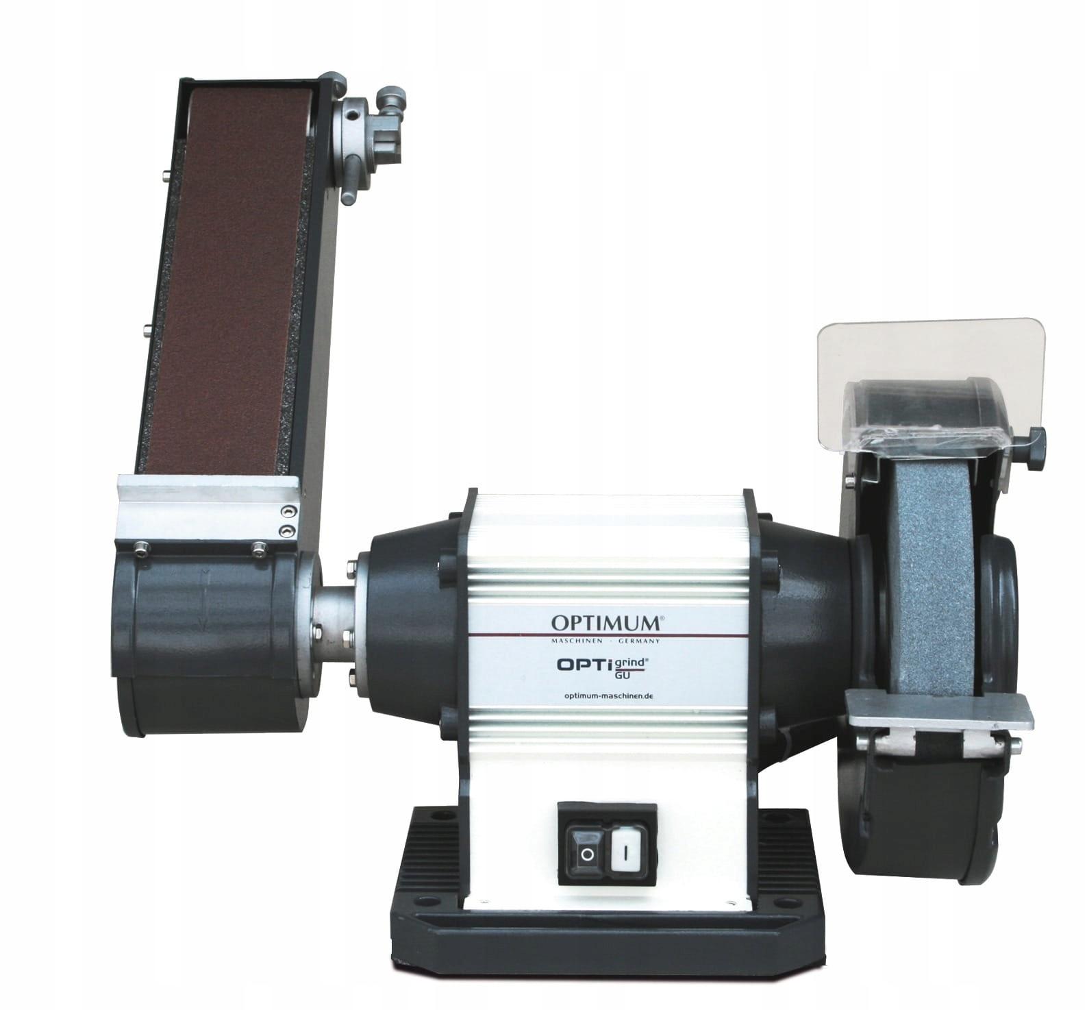 Szlifierka tarczowo-taśmowa GU 25S 400V OPTIMUM