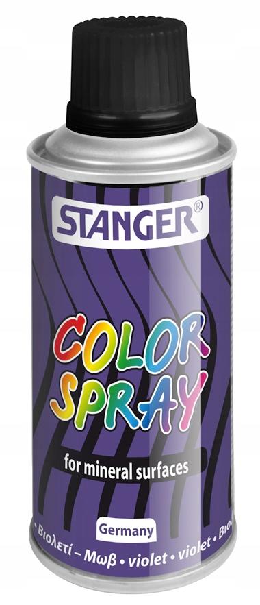 Farba akrylowa Stanger w sprayu 150ml Fioletowa
