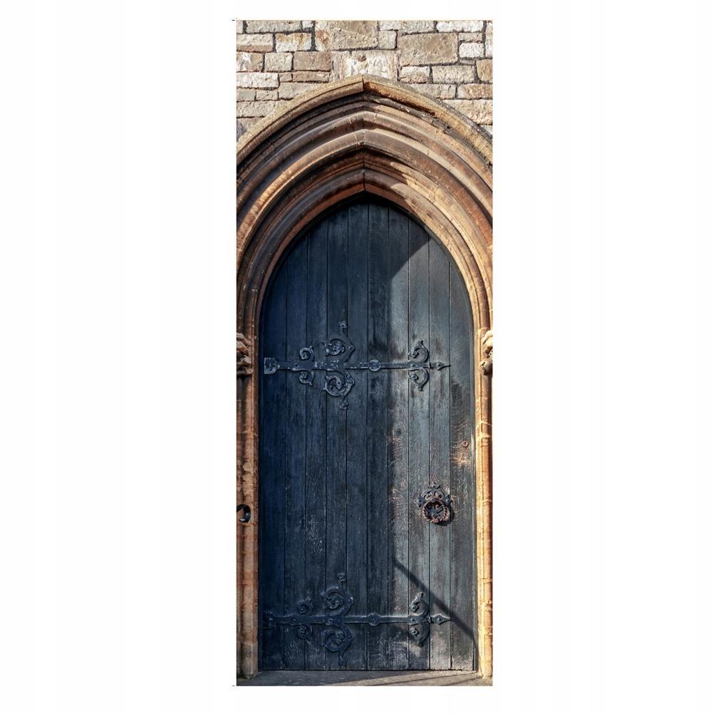 Nálepka s oblúkovými dverami Kreatívna renovácia Retro