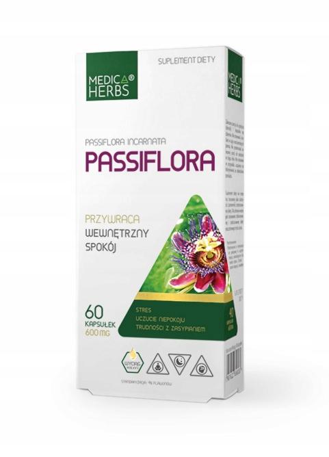 Passiflora incarnata 100% bez dodatków Męczennica