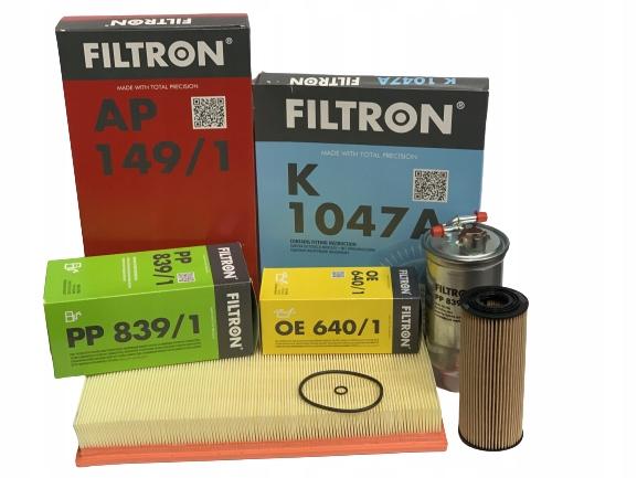 комплект фильтры filtron vw гольф 4 iv audi a3 19tdi